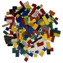 Lego 200 hohe Basic Steine Bausteine Grundbausteine gemischt gewaschen Bauen