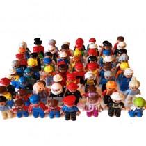Lego Duplo 10 Figuren verschiedene Menschen Set Kinder Oma Opa Eltern Kinder