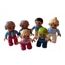 Lego Duplo Familie Eltern Kinder Opa 6 Figuren