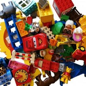 LEGO DUPLO 70 Duplosteine Bausteine Starter Figuren Tiere Fahrzeuge kg KONVOLUT