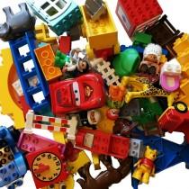 Lego Duplo Konvolut gereinigt Steine, Figuren, Fahrzeuge 3KG